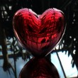 Red love 3D heart — Stock Photo