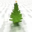 árbol de Navidad lista para decorar — Foto de Stock