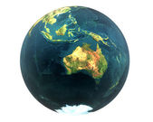 3D world Australia — Stock Photo