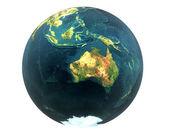 3D world Australia — Stock Photo