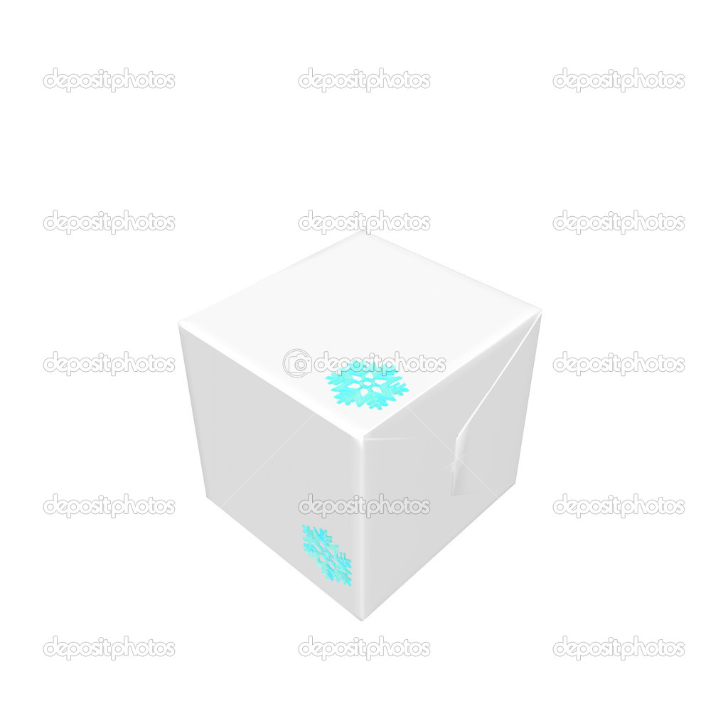 Christmas presents and gifts box isolated on a white background — Stock Photo #1146073