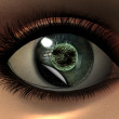 Beautiful girl eye in 3D — Stock Photo #1881534