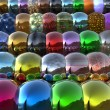 3d bright balls — Stock Photo