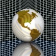3d earth — Stock Photo