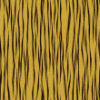 Tiger fur, seamless — Stock Photo