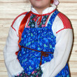 Russian girl in traditional clothes — Stock Photo #1887033