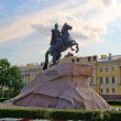 Monument of Peter the First, St.Petersburg, Russ — Stock Photo
