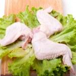 Uncooked chicken — Stock Photo #1887321