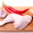 Stock Photo: Uncooked chicken