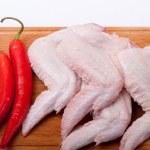 Uncooked chicken — Stock Photo #1887675