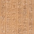 Egypt hieroglyphs from Luxor — Stock Photo #1887746