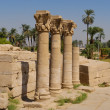 Dendera temple near Luxor, Egypt, Africa - Stock Photo