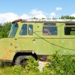 Stock Photo: Old forgotten russitruck