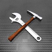 Tools set — Stock Photo
