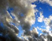 Beautiful abstract summer sky — Stock Photo