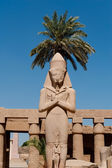 Karnak temple in Luxor, Egypt — Stock Photo