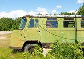 El viejo camión ruso olvidado — Foto de Stock