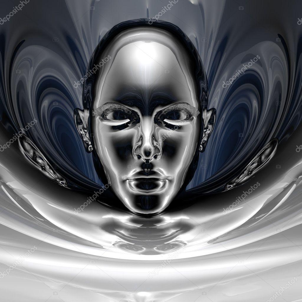 Sfondo di Goth di Cyber