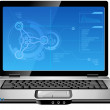 Royalty-Free Stock Imagen vectorial: Laptop