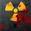 Radioactivity Plate - Imagen vectorial
