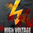 High Voltage — Vector de stock