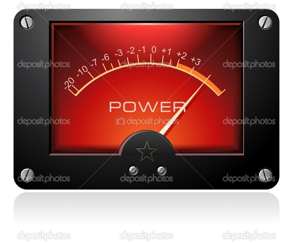 Analog Power Meter : Analog power meter