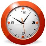 古典的なオフィスの時計 — ストックベクタ