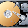 Hard Drive - Stock Vector