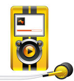 MP3 Player — Stock Vector