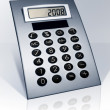 Stock Photo: Stylish calculator