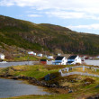 Newfoundland village - Stock Photo