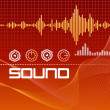 Stock Vector: Sound Lab Signals
