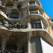 Casa Mila (La Pedrera)in Barcelona - Stock Photo