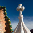 Royalty-Free Stock Photo: Roof of Casa Battlo