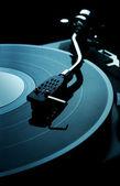 Vinyl disk player — Stock Photo