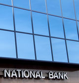 National bank — Stock Photo