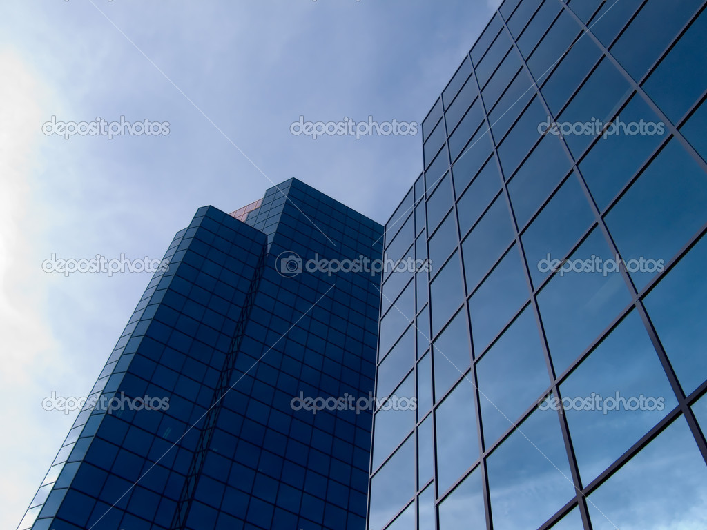 Skyscaper - Finance building — Stock Photo #1491522