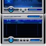 Mp3 media music player vector — Stock Vector
