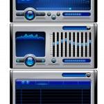 MP3 Media player — Stock Photo