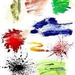 Grunge brushes pack — Stock Vector #2234967