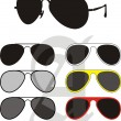 Sun Glasses Collection — Stock Vector #1160958