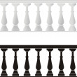 Royalty-Free Stock Vector Image: Architectural element - a balustrade