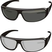 Sun glasses — Stock Vector