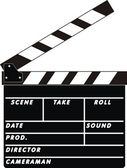 Clapboard — Stock Vector