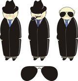 Inspector. Detective. Agent. — Stock Vector