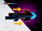 High tech arrows — Stock Vector
