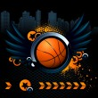 Basketball modern image — Stock Vector #1287504