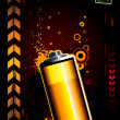 Just battery - Imagen vectorial