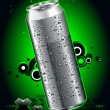 Realistic can — Stockvector #1333274