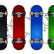 Set of skateboards — Stock Vector #1391205